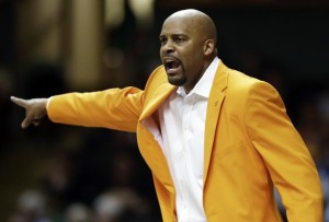 Cuonzo Martin calls out a play against Vandy
